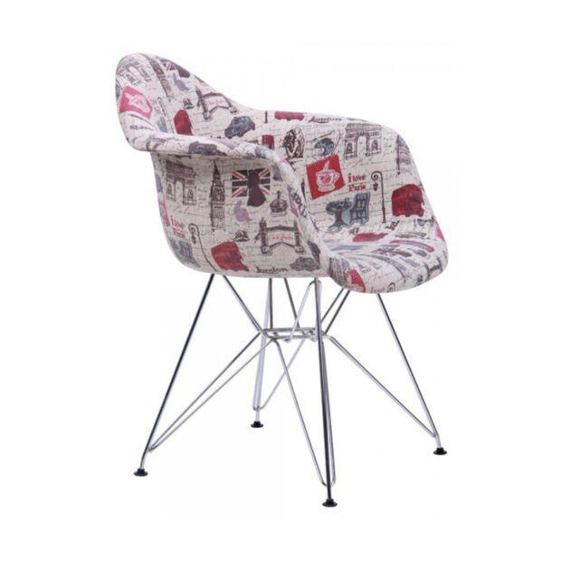 Кресло Salex FB Chrome Paris1