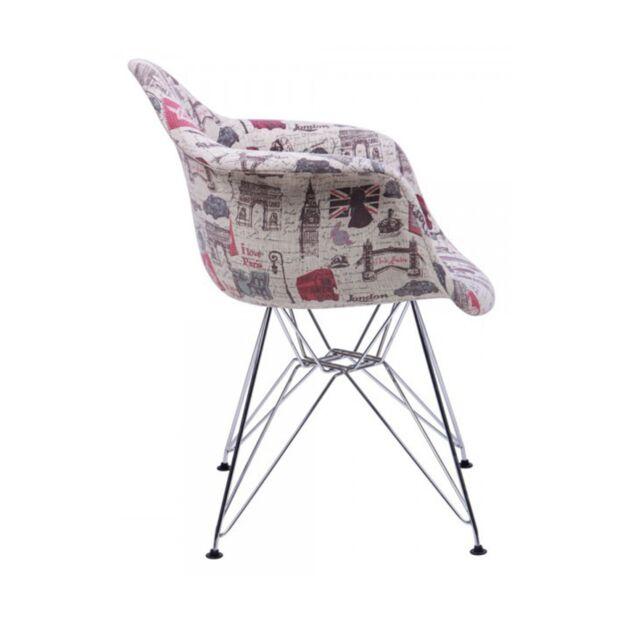 Кресло Salex FB Chrome Paris3
