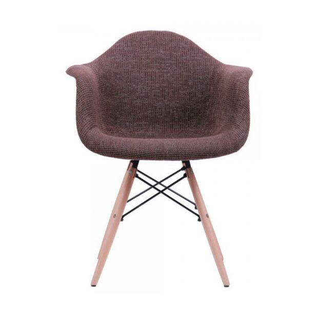 Кресло Salex FB Wood Коричневый1