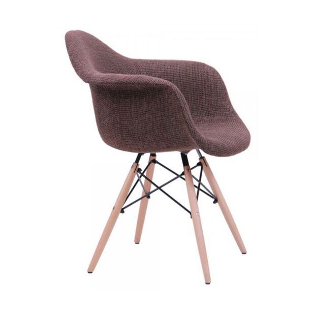 Кресло Salex FB Wood Коричневый2