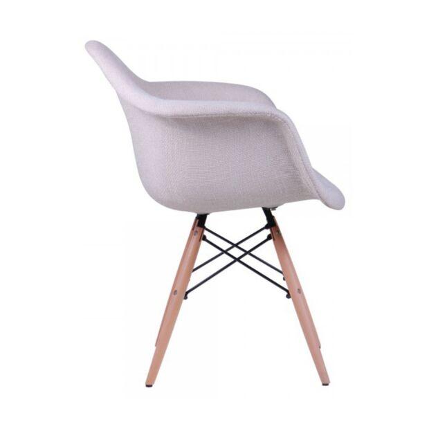 Кресло Salex FB Wood Кремовый3