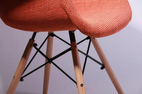 Кресло Salex FB Wood Оранжевый6