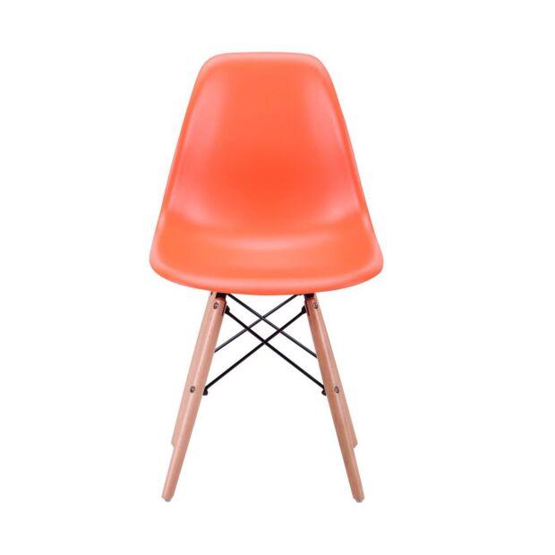 Стул Aster PL Wood Пластик Оранжевый1