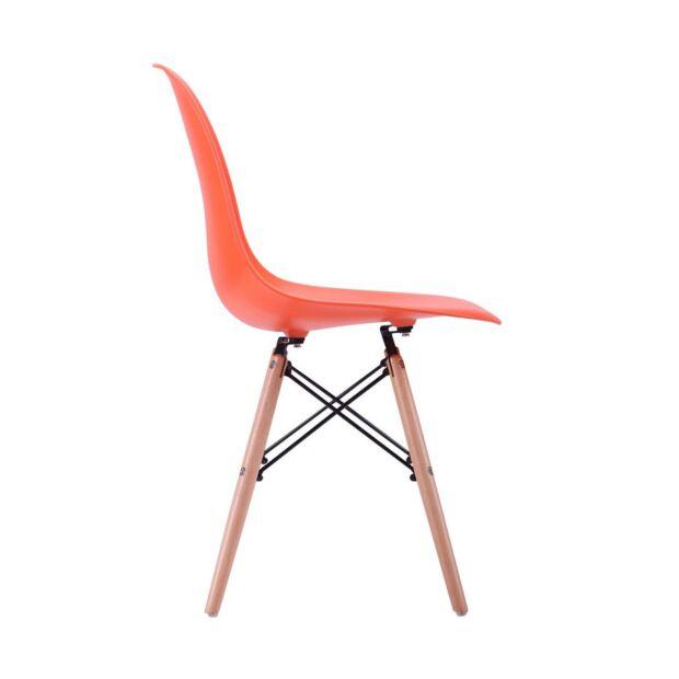 Стул Aster PL Wood Пластик Оранжевый2
