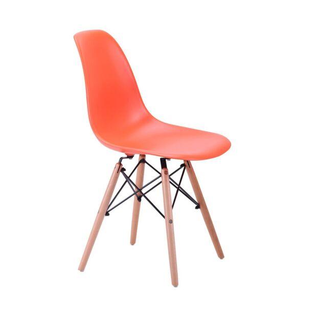 Стул Aster PL Wood Пластик Оранжевый3