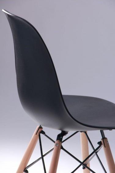 Стул Aster PL Wood Пластик Черный7