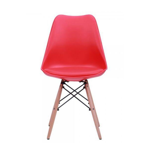 Стул Aster Wood Пластик Красный1