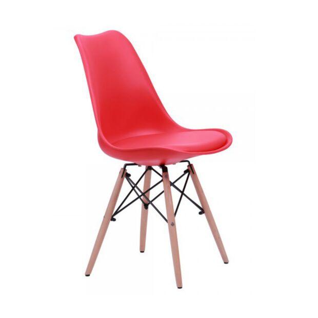 Стул Aster Wood Пластик Красный2