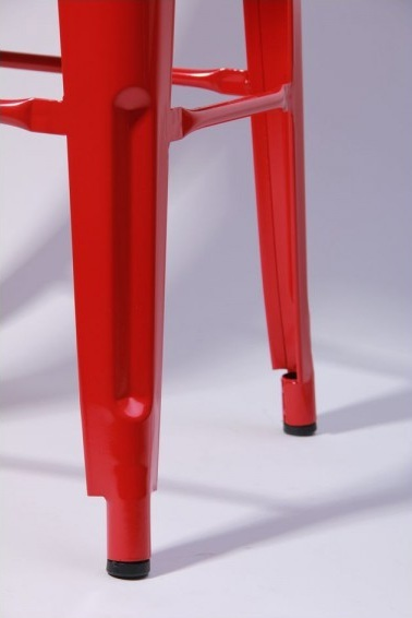 Табурет Хокер Loft Metal Красный3