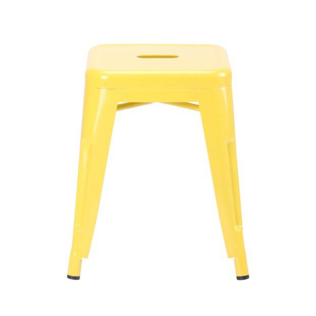 Табурет Loft Metal желтый1