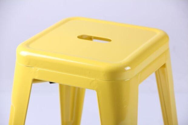 Табурет Loft Metal желтый3