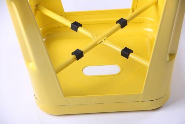 Табурет Loft Metal желтый4