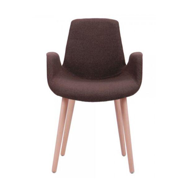 кресло leonar коричневый1