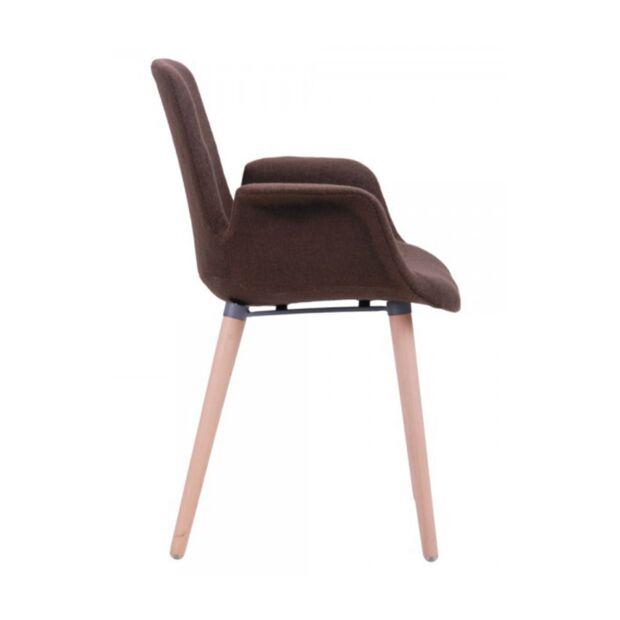 кресло leonar коричневый4