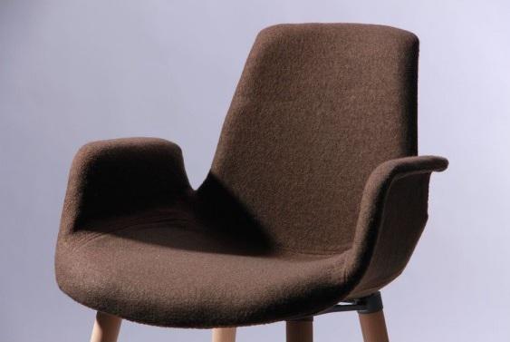 кресло leonar коричневый6