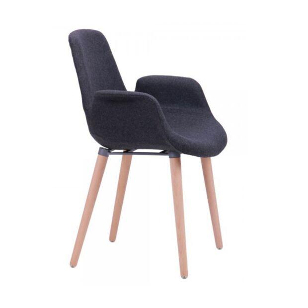 кресло leonar черный3