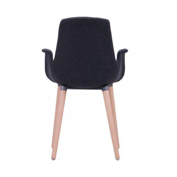 кресло leonar черный5