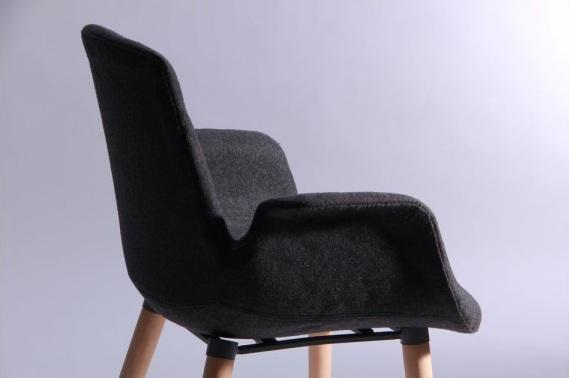 кресло leonar черный6
